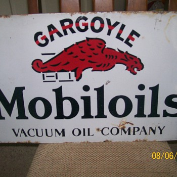 Mobiloil Sign - Signs