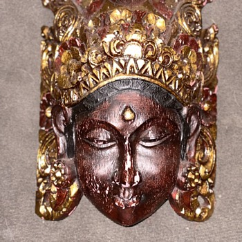 Late 1900's Early 20th century mask - Fine Art