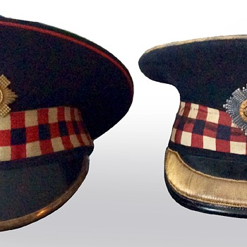 Second World War Scottish visors - Military and Wartime
