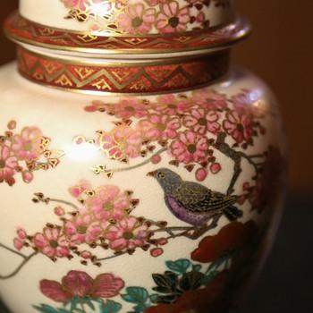 Satsuma Covered Jar / Urn - Pottery