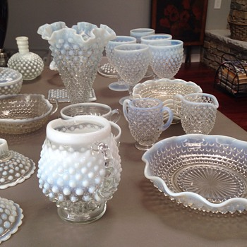 Fenton set - Glassware