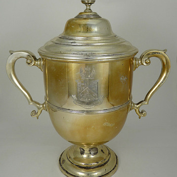 Sterling Trophy Restored - Silver