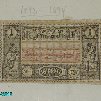 british somaliland stamp 1893-1894 no nothing about it edith cavell cinderella stamp - Stamps