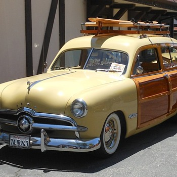 Lake Arrowhead Woody Show Pt 2 - Classic Cars