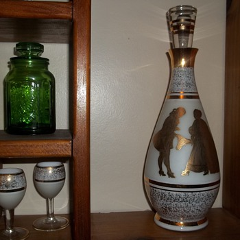 Great-Grandma's Wine Decanter - Bottles