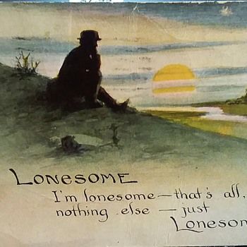 Lonesome for 100 years! - Postcards