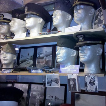 WWII US Navy Officer hats