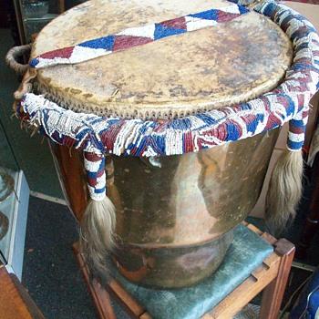 Zulu War Drum 1879 ? - Musical Instruments