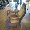 1890s goosneck recliner