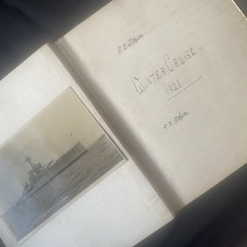 WW1 navy diary  - Military and Wartime