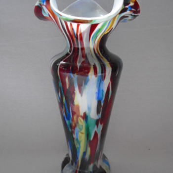 Welz Vase with Flaring Rim  - Art Glass