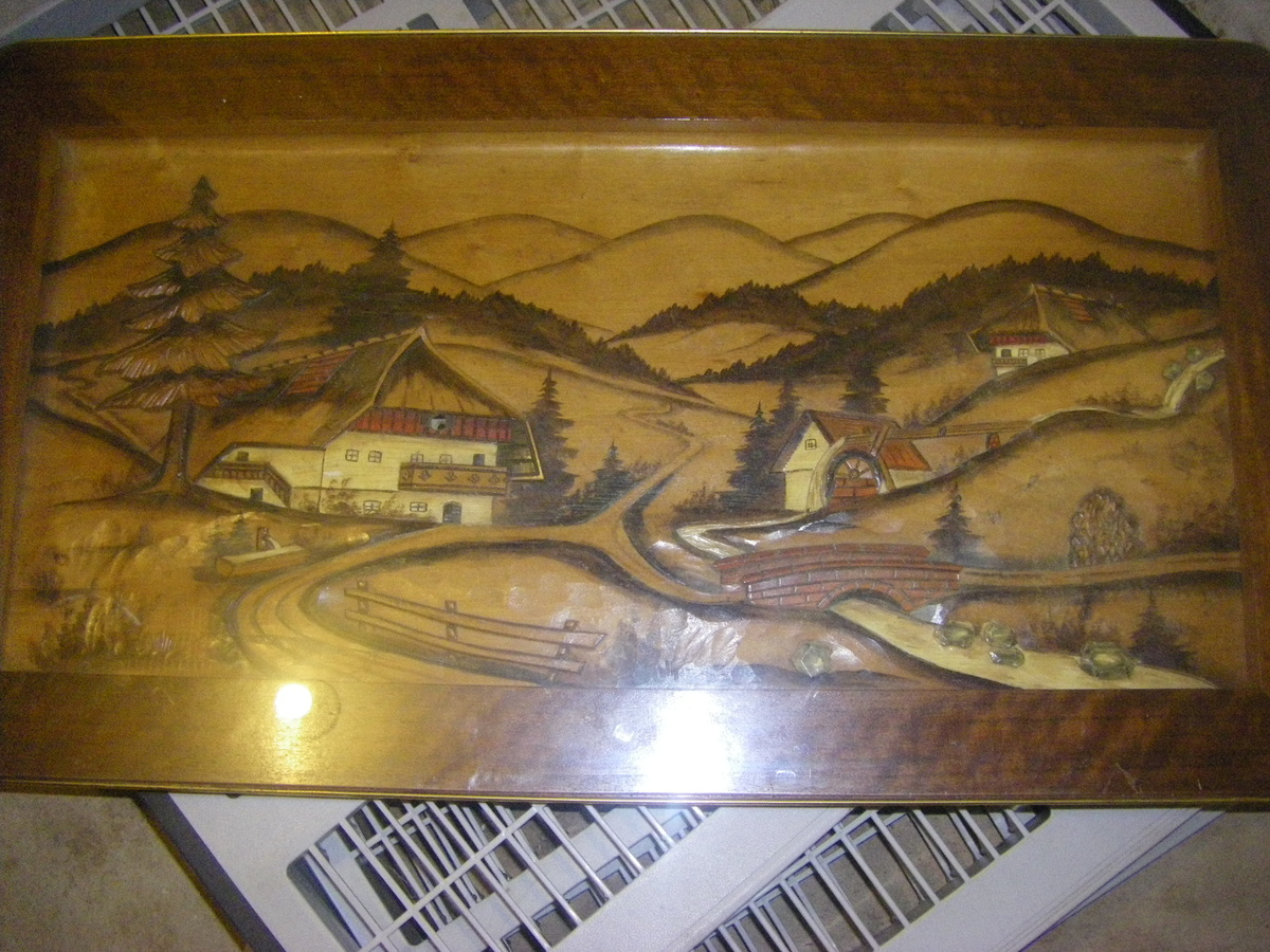 I Believe It S From Germany Hand Carved Coffee Table With