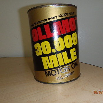OLLMO OIL CANS