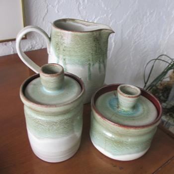 Ken McDonald redware pottery - Pottery