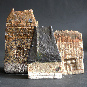 miniature houses - Pottery