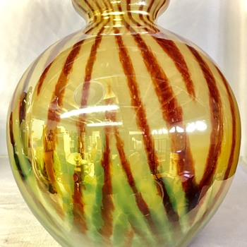 Kralik - Iris decor variations - Art Glass
