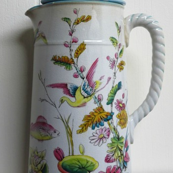 English Pottery Jug - Pottery
