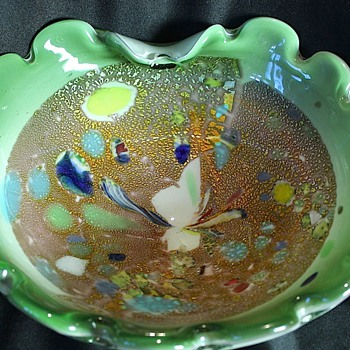 Murano Multi-Color Dish