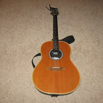 1975 Ovation Medallion Guitar - Guitars