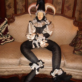 4' Jester Doll - Dolls