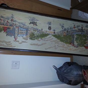 My longest painting