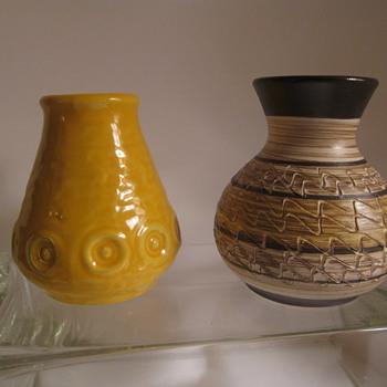 German Pottery Scheurich & Jasba  - Pottery