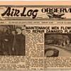 "1953 - USAF ""Air Log Observer"" Newspaper"