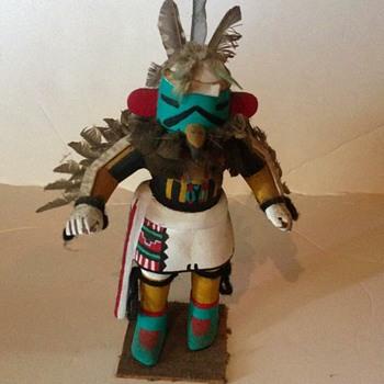 Native American Eagle Kachina Doll - Native American