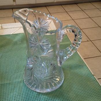 Heavy crystal pitcher - Glassware