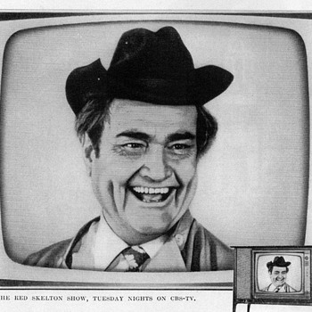 "1961 - ""Red"" Skelton for Zenith TV - Advertisement - Advertising"