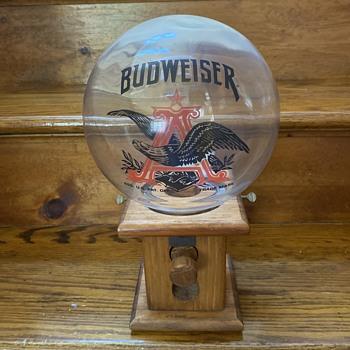 Budweiser peanut dispenser - Breweriana