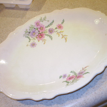 Homer Laughlin platter - China and Dinnerware