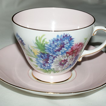 Royal Crafton Bone China:  Cornflowers - China and Dinnerware