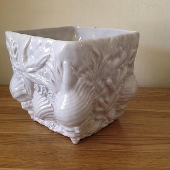 Deep sea coral shells porcelain vase - Pottery