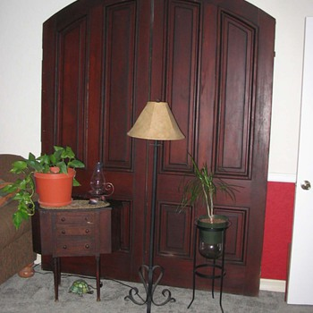 Mahogany Double Doors (late 1800s)  - Furniture