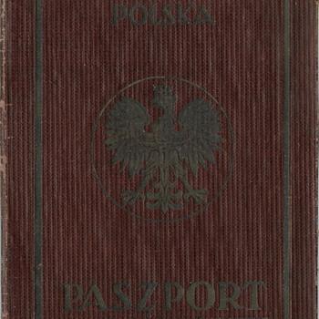 another Polish service passport - Paper