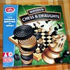 1977-chad valley board games-chess/draughts-wooden set.