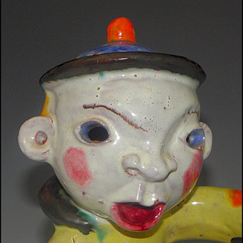 Walter Bosse Band Figure - Austria - Pottery