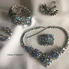 Sherman Jewelry Parure — Starlight ... and a Starlight Spider