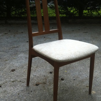 "Dining Chair Marked ""Made in Denmark"" - Mid-Century Modern"