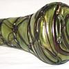 Art Nouveau Kralik Vine threaded Vase C1895