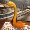 Art Glass Swan/Duck/Goose