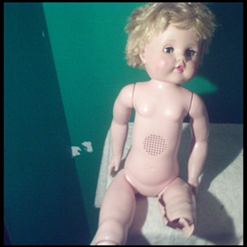 EI Horsman Surgical repair  of Hard Plastic Vintage Walking Cindy Strutter Doll - Dolls