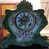Porcelain Ansonia Mantle Clock