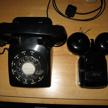Bell System Western Electric Phone with extension Bell