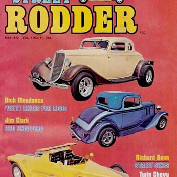 Garage Art: Street Rodder Magazine  - Paper