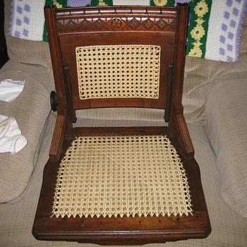 An East Lake secretary's chair - Furniture