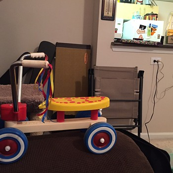 PlaySkool trike - is this particular one rare ?