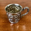 Sterling Repousse Baby cup