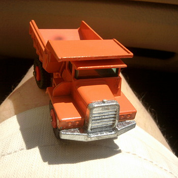 New old stock Mack Truck by Lesney.